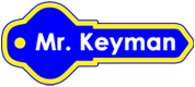 Mr. Keyman - Local Locksmiths Logo